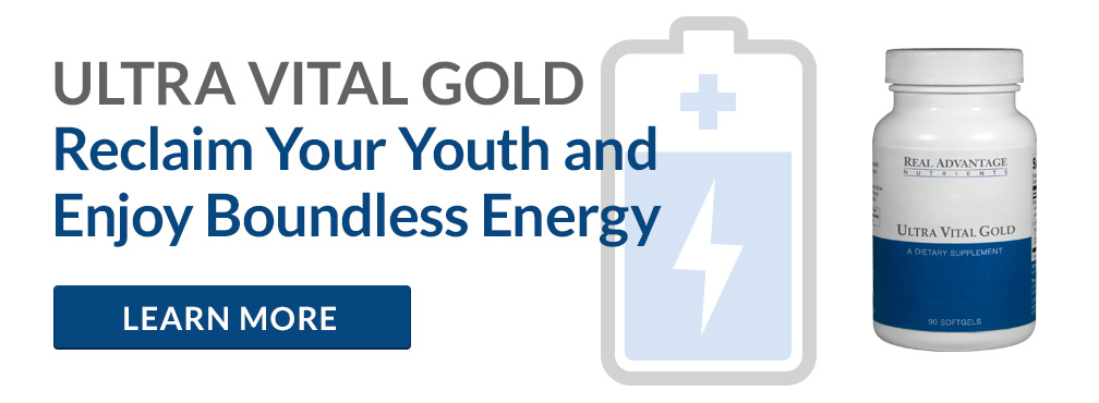 Anti-Aging Supplement - Ultra Vital Gold