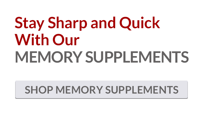 Natural Memory and Brain Support Supplements